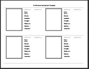 trading card template Archives - Titus 2 Homemaker