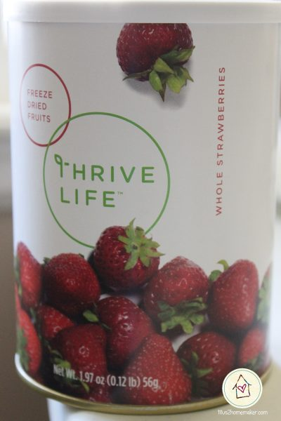 Thrive Life whole strawberries (can)