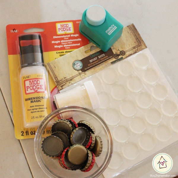 bottlecap magnet supplies