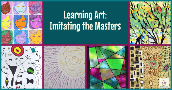 Learning Art: Imitating the Masters (Facebook title image)