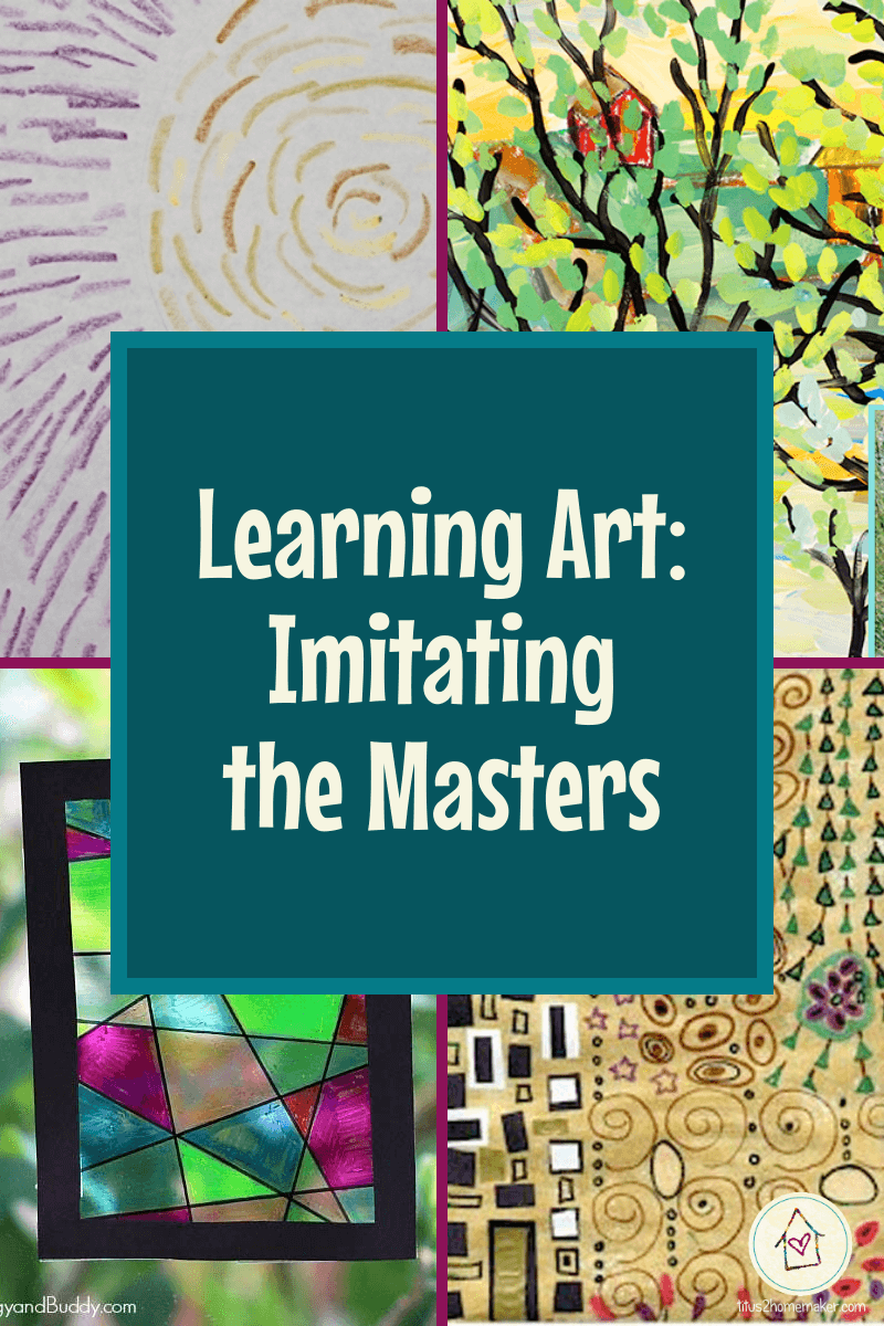 Learning Art: Imitating the Masters (pinnable image)